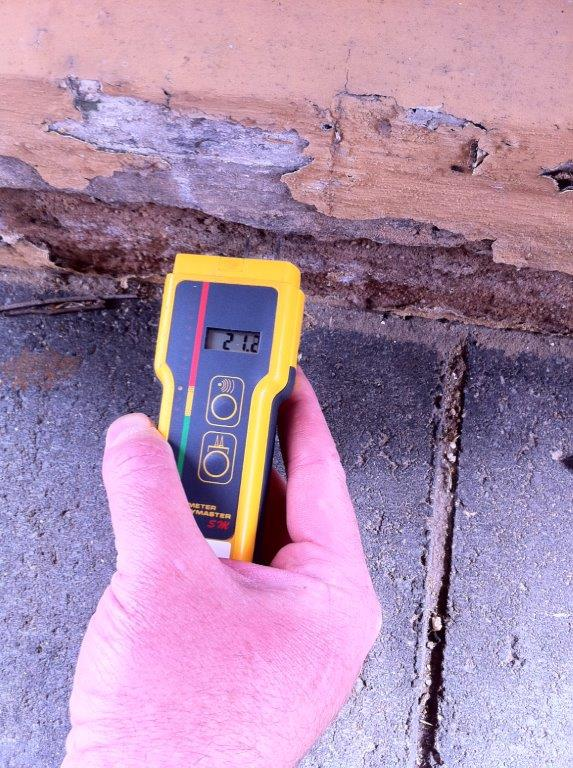 Moisture Testing before Painting Adelaide