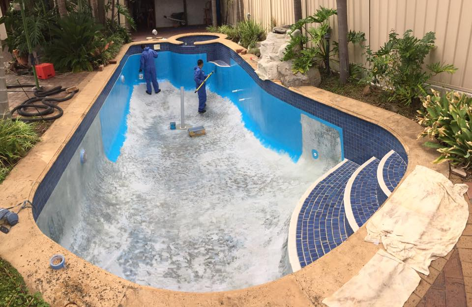 Swimming Pool Painting Adelaide